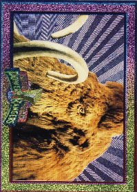 1994 - Mighty Morphin - Power Rangers - Power Foil Subset - Mammoth Mastodon - #13