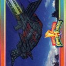 1994 - Mighty Morphin - Power Rangers - Power Foil Subset - Pterodactyl Dinozord - #12 of 12
