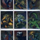 1995 Marvel Fleer Ultra Golden Web Set