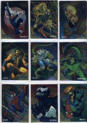 1995 Marvel Fleer Ultra Golden Web Set