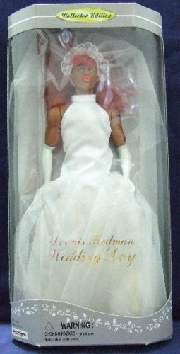 "1997 - Street Players - Dennis Rodman - Wedding Day - Collector Edition - 13 1/2"" Doll"