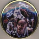 "1992/93 - Sports Impressions - Shaquille O'Neal - NBA Basketball Superstar Collector - 4"" Mini Plate"