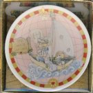 "1992 - Enesco - Precious Moments Collection - This Land Is Our Land - 4"" Collector Plate"