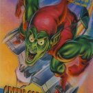 1995 Marvel Fleer Ultra SpiderMan  Clear Chrome Green Goblin 2 of 10