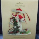 2007 Hallmark Keepsake Ornament Club Decorating Snow Lady Christmas Ornament