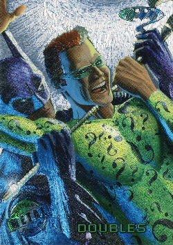 1995 - DC - Fleer Entertainment - Metal - Batman Forever - Silver Flash - Doubles - #63