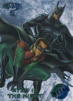 1995 - DC - Fleer Entertainment - Metal - Batman Forever - Silver Flash - Eyes In The Night - #83