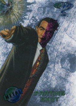 1995 - DC - Fleer Entertainment - Metal - Batman Forever - Silver Flash - Parting Shot #60
