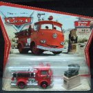 2006 - Disney - Cars - The Movie - Movie Moments - Stanley & Red - 1st Edition - Diecast Fire Engine