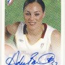 2005 - WNBA - Rittenhouse - Adia Barnes - Seattle Storm - Autograph