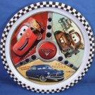 "2005 - Disney - Pixar Films - Cars - The Movie - 8 1/2"" Plastic Plate"