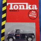 1998 - Maisto - Tonka - 50th Anniversary - Series 1 - Black Truck - Die-Cast Metal