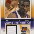 2004/05 - Amare Stoudemire - SkyBox - EX-L - Court Authentics - Game Jersey - Card CA-AS #215/500
