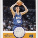 2001 - Mike Miller - Topps - Heritage - Dynamite Duds - Game Jersey - Card # DD12