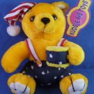 "Kuddle Me Toys - 7"" Bear w/ American Flag Outfit - Plush Toy"