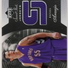 2005/06 - Rafael Araujo - Upper Deck - Sweet Spot - NBA Sweet Spot Jerseys - Card # SSJ-AR