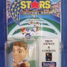 "1994 - Micro Stars - Collectors Series - Dallas Cowboys - 2"" Troy Aikman"