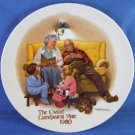 1980 - Edwin M. Knowles - The Bedtime Story - First Issue Plate