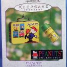 2000 - Hallmark - Keepsake Ornament - Peanuts - Peanuts Collection - Lunch Box Set
