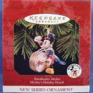1997 - Hallmark - Disney - Keepsake Ornament - Bandleader Mickey - Mickeys Holiday Parade