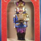 2000 - The Brass Key - Classic Star Nutcracker - Hand-Crafted - Glass Ornament - Classic Nutcracker