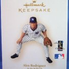 2006 - Hallmark - Keepsake Ornament - Alex Rodriguez - At The Ballpark Series - Christmas Ornament