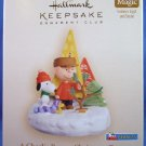 2006 - Hallmark - Keepsake Ornament - Peanuts - A Charlie Brown Christmas Tree - Ornament Club