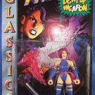 1996 - Toy Biz -  Marvel Comics - X-Men - Psylocke - With Light-Up Psychic Knife