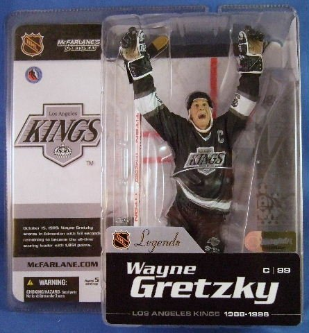 2004 - Wayne Gretzky #99 - Sports Action Figure - McFarlane's - Hockey - Legends