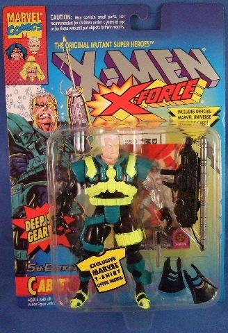 1994 - X-Men - The Original Mutant Super Heroes - X-Force - Cable - 5th Edition - Deep Sea Gear