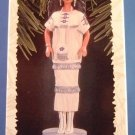 1996 - Hallmark - Keepsake Ornament - Barbie - Native American - Dolls Of The World - Ornament