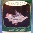 1997 - Hallmark - Keepsake Ornament - Murray Inc. Pursuit Airplane - Miniature - Kiddie Car Classics