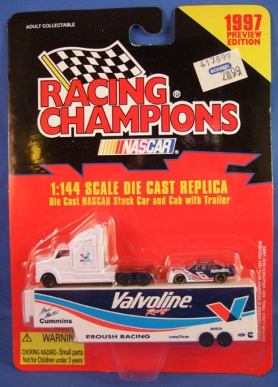 1997 - Mark Martin - NASCAR - Racing Champions - Preview Edition - Diecast Metal Car