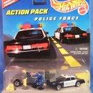 1997 - Mattel - Hot Wheels - Action Pack - Police Force - Diecast Metal
