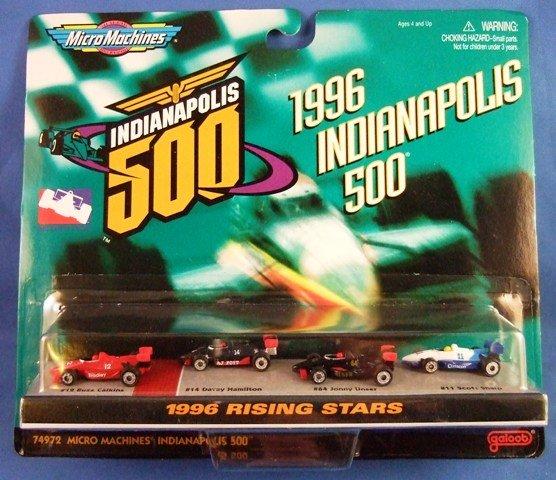 1997 - Galoob - Micro Machines - Scale Miniatures - Indianapolis 500 - 1996 Rising Stars