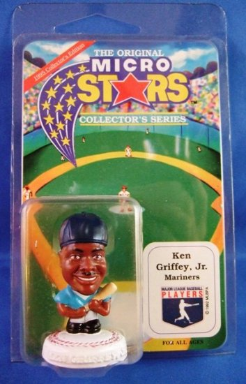 "1992 - Micro Stars - Collectors Series - Seattle Mariners - 2"" Ken Griffey Jr."