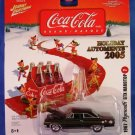 2005 - Johnny Lightning - Coca Cola - Holiday Automents - 1967 Plymouth GTX Hardtop - Die-cast Metal