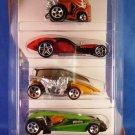 2004 - Mattel - Hot Wheels - 5 Car Gift Pack - AUTOGRFX