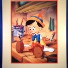 1993 - Walt Disneys - Pinocchio - Exclusive - Commemorative Lithograph