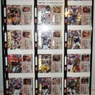 1993 - Action Pack - NFL Football - Numbered Uncut Sheet - Limited Edition - Professionally Framed