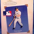 2003 - Hallmark - Keepsake Ornament - Jason Giambi - At The Ballpark Series - Christmas Ornament