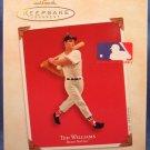 2003 - Hallmark - Keepsake Ornament - Ted Williams - Boston Red Sox - Christmas Ornament