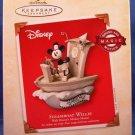 1973-2003 - Hallmark - Disney - Keepsake Ornament - Steamboat Willie - Christmas Ornament