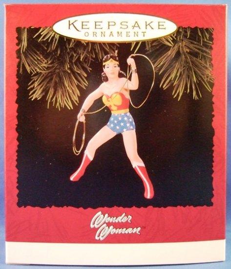 1996 - Hallmark - Keepsake Ornament - Marvel - Wonder Woman - Christmas Ornament