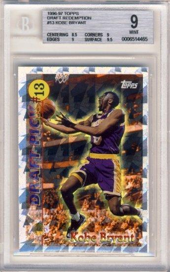 1996 97 Kobe Bryant Nba Basketball Topps Draft