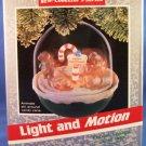 1989 - Hallmark Keepsake - Magic - Light and Motion - Forest Frolics - Christmas Ornament