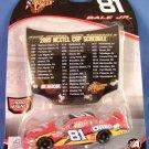 2005 - Dale Earnhardt Jr. - Winners Circle - Nextel Cup Schedule - Diecast Car