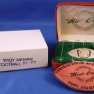 1996 - The Highland Mint - Sports Collection - Troy Aikman - Dallas Cowboys - Silver Football Coin