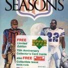 1920-1995 - PolyGram Video -  NFL Films Video - 75 Seasons - VHS - Movie
