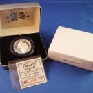 2002 - The Highland Mint - Run With History - Emmitt Smith - Dallas Cowboys - Silver Coin